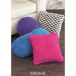 S7781 Cushion Covers in Sirdar Touch