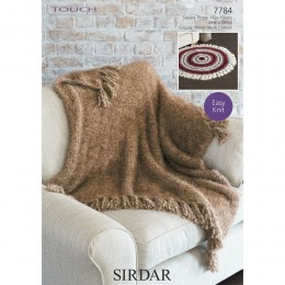S7784 Throws in Sirdar Touch