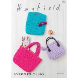 S7955 Bags in Hayfield Bonus Super Chunky