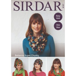 S8157 Accessories in Sirdar Bohemia Super Chunky