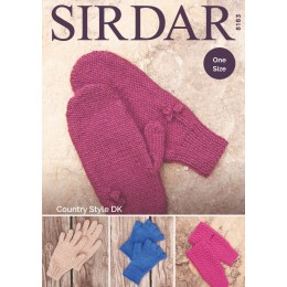 S8183 Gloves in Sirdar Country Style DK