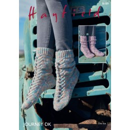 S8189 Socks in Hayfield Journey DK