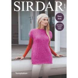 S8199 Tunic & Hat in Sirdar Temptation Chunky