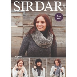 S8206 Lady's Accessories in Sirdar Alpine