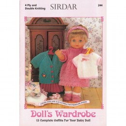 S244 Doll's Wardrobe