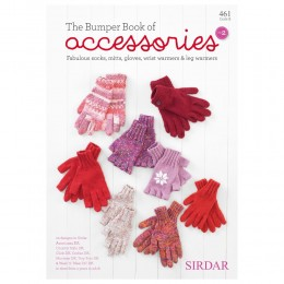 S461 The Bumber Book of Accessories No.2, 20 designs from 4 years to adult