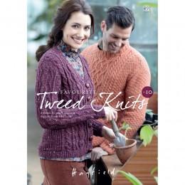 S491 Favourite Aran Knits No. 10, 11 designs for women and men in Bonus Aran Tweed
