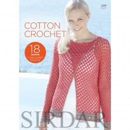 S499 Cotton Crochet, 18 designs for women in Cotton DK and 4ply