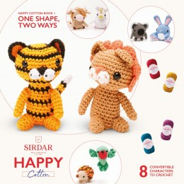 Sirdar Happy Cotton DK Book 1 - One Shape, Two Ways