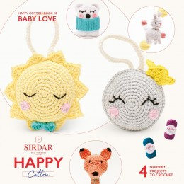 Sirdar Happy Cotton DK Book 10 - Baby Love