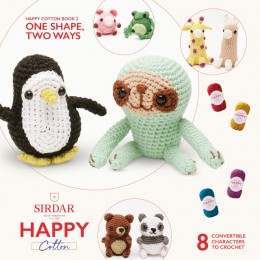 Sirdar Happy Cotton DK Book 2 - One Shape, Two Ways