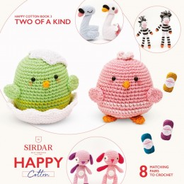 Sirdar Happy Cotton DK Book 3 - Two Of A Kind
