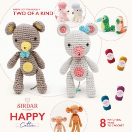 Sirdar Happy Cotton DK Book 4 - Two Of A Kind