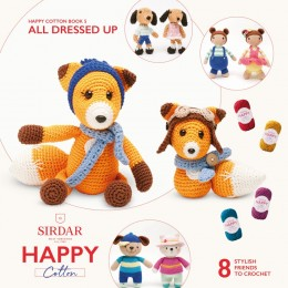 Sirdar Happy Cotton DK Book 5 - All Dressed Up