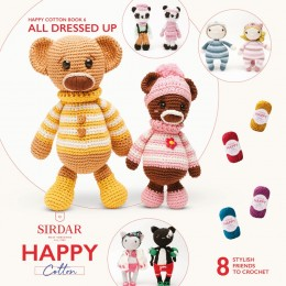 Sirdar Happy Cotton DK Book 6 - All Dressed Up
