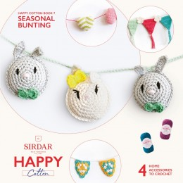 Sirdar Happy Cotton DK Book 7 - Seasonal Bunting