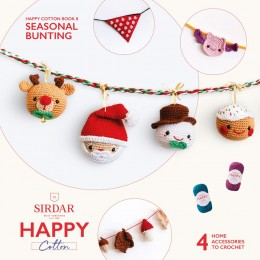 Sirdar Happy Cotton DK Book 8 - Seasonal Bunting