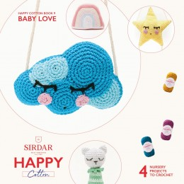Sirdar Happy Cotton DK Book 9 - Baby Love