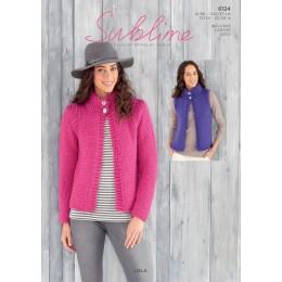 SU6124 Women's Cardigan in Sublime Lola
