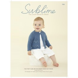 SUB708 The First Sublime Evie Baby Hand Knit Book