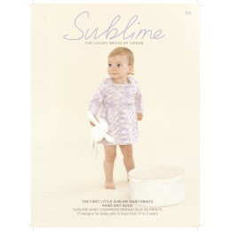 SUB712 The First Little Sublime Baby Prints Handknit Book