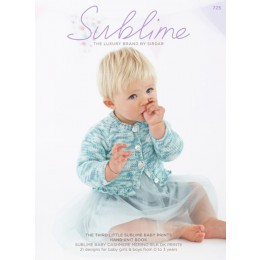 Sublime 725 - The Third Little Sublime Baby Prints Hand Knit Book
