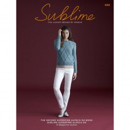 SU686 The Second Superfine Alpaca DK book, 13 designs for women