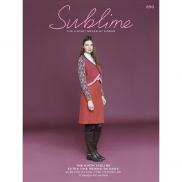 SU690 The Ninth Sublime Extra Fine Merino DK Book, 13 designs for women