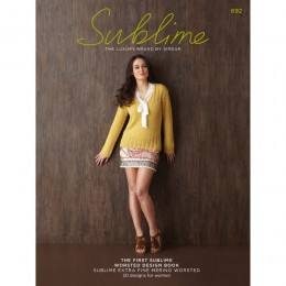 SU692 The First Sublime Worsted Design Book, 21 designs for women
