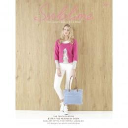 SU694 The Tenth Sublime Extra Fine Merino DK Book, 20 designs for women