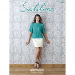 SU695 The Second Sublime Cotton Silk DK Book, 12 designs for women
