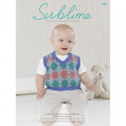SU696 The Seventeenth Little Sublime Hand Knit Book, 18 designs for babies and children