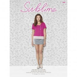SU699 The Second Sublime Worsted Design Book, 17 designs for women