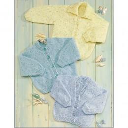 St4521 Baby Raglan Cardigans Wondersoft DK