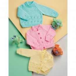St8009 Baby Cardigans and Jumper Wondersoft DK