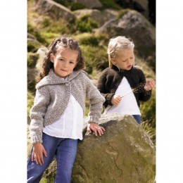 St8257 Children's Cardigan Life Chunky