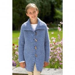 St8798 Children's Jacket Alpaca DK