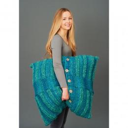 St8804 Floor Cushion Swift Knit Super Chunky