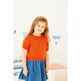 St8904 Children's Cardigan and Top Life DK
