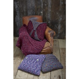 St9335 Cushions and Throw in Swift Knit Tweed
