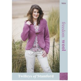 TRT9084 Ladies Cardigan Freedom Wool