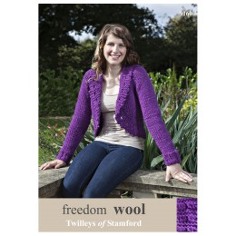 TRT9160 Ladies Cardigan Bolero Freedom Wool
