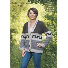TRT9217 Adult Cardigan Freedom Wool
