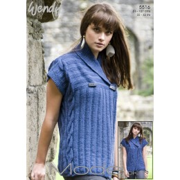 TRW5516 Ladies Sleeveless Cardigan DK
