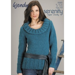 TRW5580 Ladies Jumper Wendy Serenity Super Chunky