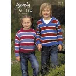 TRW5646 Children's Jumpers Wendy Merino Chunky