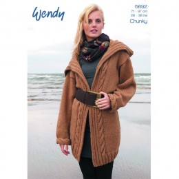TRW5692 Ladies Jacket Chunky