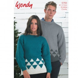 TRW5755 Adult Jumpers Chunky