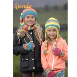 TRW5760 Children's Hats and Mittens DK