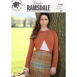 TRW5790 Ladies Cardigan Wendy Ramsdale DK